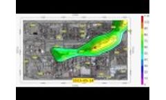 (RWC-037) Leaking Tank Contaminant Plume Migration Over 1-Year Period Video