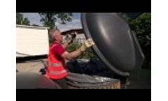 ECOdip Containers for Underground Waste Collection Video
