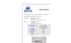 Simpson - SW400 - Ozone Generator - Brochure