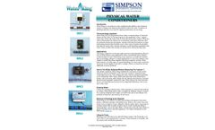 Physical Water Conditioners – Brochure