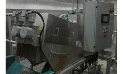 Simpson - Model ES-132 - Volute Dewatering Press