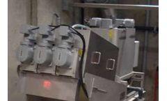 Simpson - Model ES-133 - Volute Dewatering Press