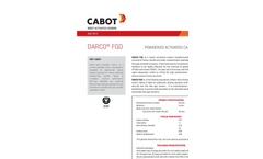 DARCO - Model FGD - Powdered Activated Carbon - Brochure