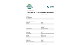 EnProve - BC Series - Sodium Bicarbonate - Brochure