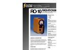 R0-10 Portable Ion Chamber Brochure