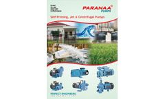 Self Primming  & Centrifugal  Pumps - Brochure
