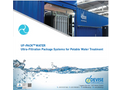 DEVISE UF-PACK Water - Ultra-Filtration Package Systems for Potable Water Treatment - Brochure