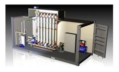 DEVISE - Model UF-PACK WATER - Ultrafiltration Package Systems for Potable Water Treatment