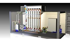 DEVISE - Model UF-PACK WATER - Ultrafiltration Package Systems for Potable Water Treatment - Modules of 500-5.000 m3/d