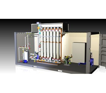 DEVISE - Model UF-PACK WATER - Ultrafiltration Package Systems for Potable Water Treatment - Modules of 200 – 5.000 m3/d