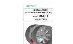 CBI CB Jet Fan Use, Installation & Maintenance Manual