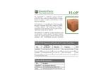 HazPack - Model V Premier Line - Cubic Yard Boxe Brochure