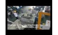 Two shaft shredder,shredding FRP