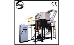 SOYU - Model FS130 series - Solid Waste Shredder