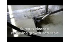 Cooling tower cleaning with Feedwater Chemicals