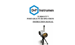 Turbo FT - Fast Portable Spectral Sensors - Instructions Manual