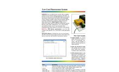 StellarNet Low Cost Spectro Fluorometer Systems- Brochure