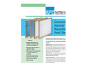 Koch - Commercial & Industrial Disposable Panel Filters - Brochure
