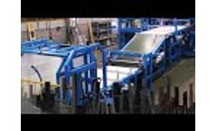 Gamma Meccanica - Mineral Wool Production Lines - Video
