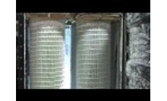HemiPleat Dust Collector Filter Pulse Cleaning Video