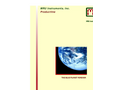 MRU Complete Product Line - Brochure