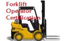 Forklift Operator Certification
