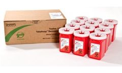 Sharps - Twelve 1-Quart TakeAway Recovery System