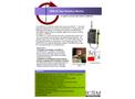 Rotem - Model DRM-2E - Wide Range Area Monitor - Brochure
