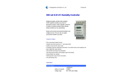 Single Channel Humidity Controlle S-S1-K1