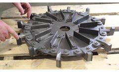 Pulvocron Size Reduction Machine Parts Replacement - Video