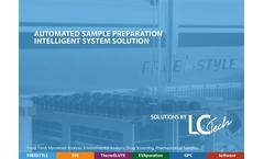 Automated Sample Preparation Intelligent System Solution Brochure
