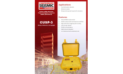 Model CUSP-3 - Strong Motion Accelerograph - Brochure