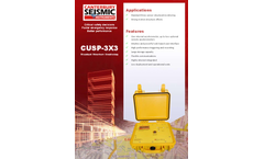 Model CUSP-3X3 - Standard Structure Monitoring System - Brochure