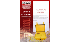 Model CUSP-3X3 - Standard Structure Monitoring System - Technical Manual