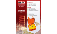 Model CUSP-Ms - Structural Monitoring System - Flyer