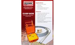 Model CUSP-BOR - Strong Motion Accolerometer Borehole Probe - Brochure