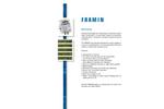 Framin - Water Loss and Consumption Measuring Instrument  Brochure