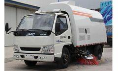 Model YHQS5050A - Road Sweeper