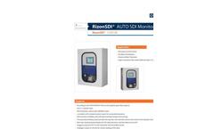 Horizon RizonSDI - Model 110/120 - Automatic On-Line SDI Monitor - Brochure