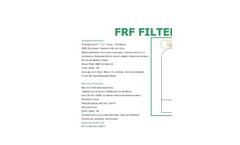 Water-King - Model FRF Series - Top Mount - Fiberglass Tank Water Filters - Brochure