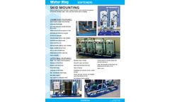 Water-King - Skid Mounting Water Softeners -  Brochure