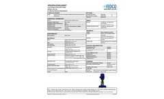 FEDCO - Model LPS - Feed Pump - Datasheet