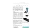 GE-104D Portable Doppler Flow Velocity Speed Meter