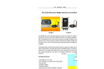 A.YITE - Model GE-102S - Ultrasonic Sludge Interface Depth Level Meter Datasheet