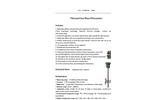 Thermal Gas Mass Flowmeter Datasheet