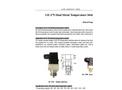 A-Yite - Model GE-379 - Dual Metal Temperature Switch Brochure