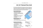 GE-327 Thermal Flow Switch | Electronic Flow Sensor