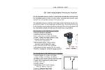 GE-208 adjustable pressure switch | mechanical pressure controller