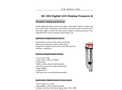 GE-209 Digital LED Display Pressure Sensor