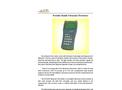 A.YITE - Model EU-109 - Portable Handle Ultrasonic Flowmeter Brochure